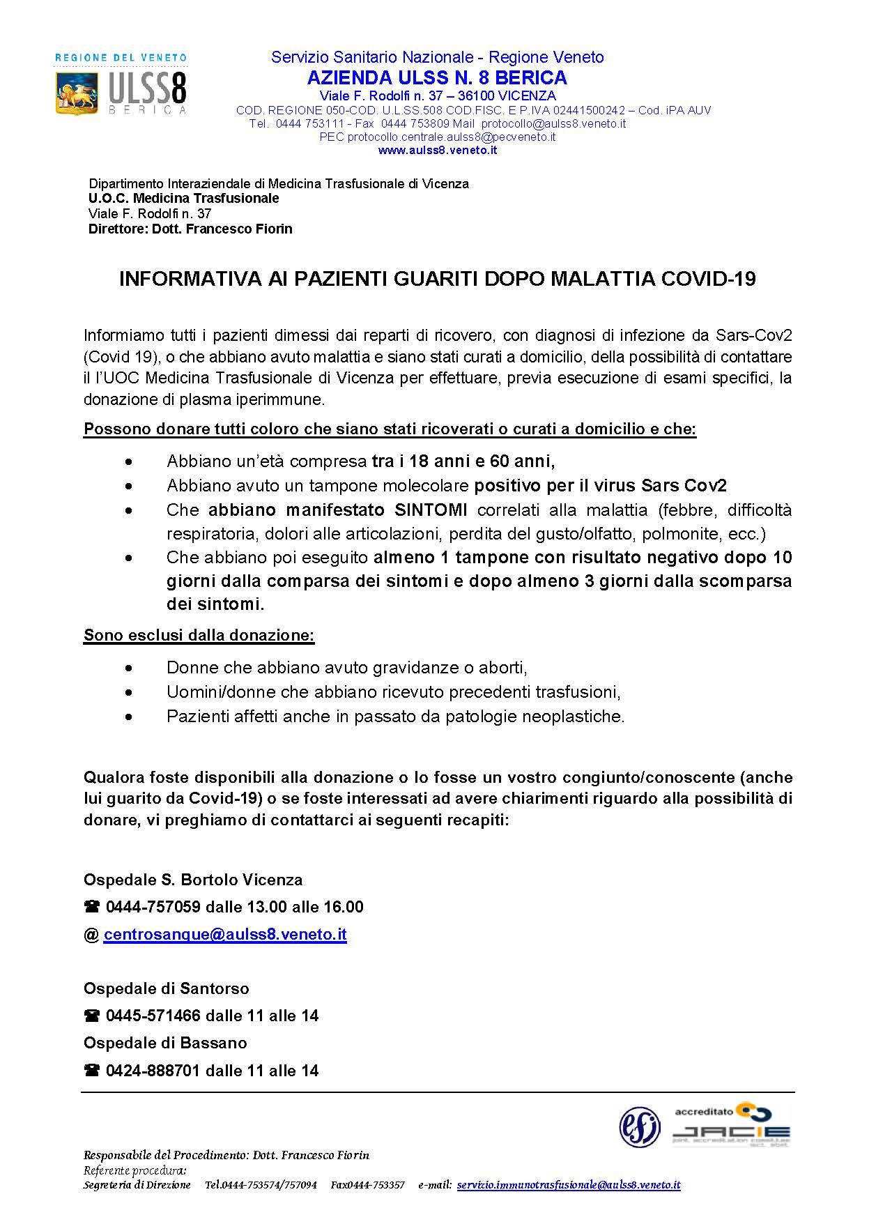 COVID19 informativa ai pazienti guariti_Pagina_1